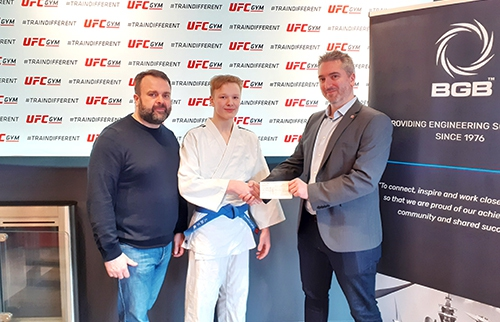 Sponsorship Deal Gives Grantham Judo Star A Fighting Chance of Olympic Success