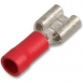TERMINAL CONNECTOR RED 6.3 (10 PACK)